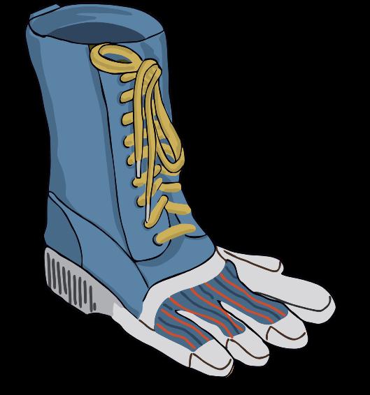 Fuß bild